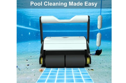 5. PAXCESS Automatic Robotic In-Ground and Above Ground Pool Cleaner