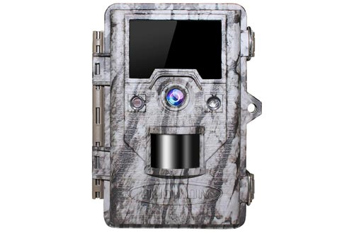 6. OUDMON Trail Game Hunting Camera with Night Vision Motion Activated