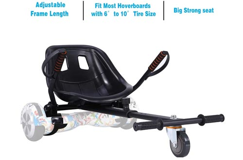 6. yabbay Hoverboards Go Karts Seat Attachment