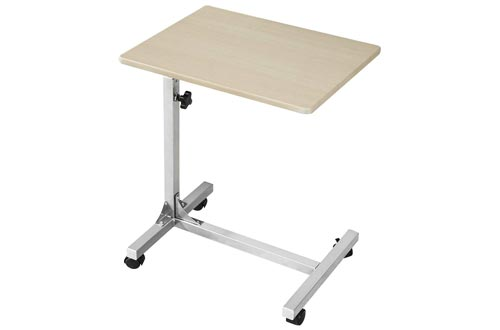 7. Coavas Portable Over Bed Medical Table