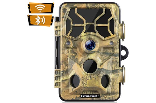 9. Campark Trail Camera for Outdoor Wildlife Monitoring Waterproof IP66