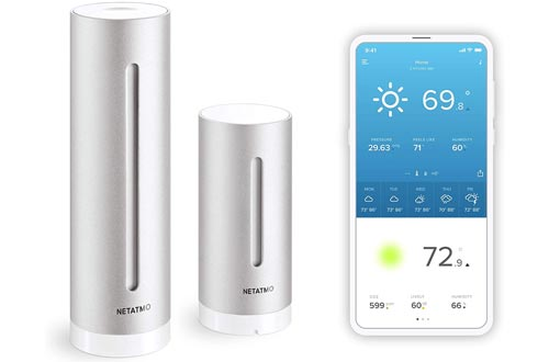 9. Netatmo with Wireless Outdoor Sensor