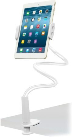 Aduro Solid-Grip iPad Stand Holder 360 Adjustable