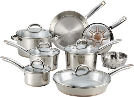 T-fal C836SD Ultimate Stainless Steel Copper Bottom