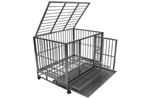 10. SmithBuilt Heavy Duty Dog Crate Cage