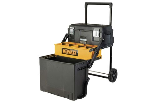 2. DEWALT Tool Box & Rolling Mobile Work Center
