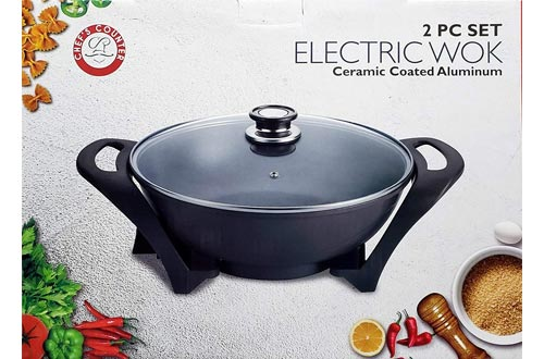 1. Chef's Counter Electric Wok