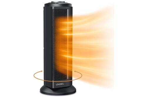 1. Lensoul Indoor Portable Fast Heating Space Heater