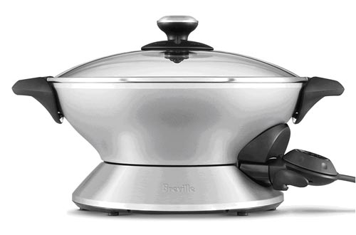 10. Breville Hot Wok Stainless Steel