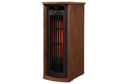 10. Duraflame Electric Infrared Oscillating Tower Heater