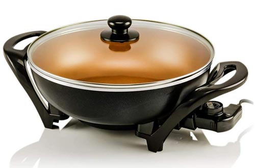 4. Ovente Electric Kitchen Skillet