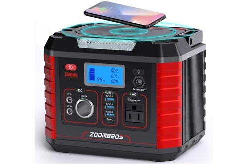 5. ZOOMBROS Portable Power Station
