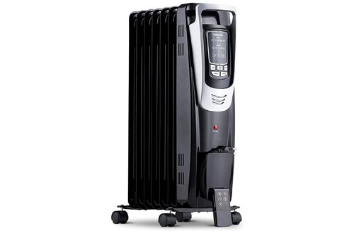6. NewAir Electric Oil-Filled Space Heater