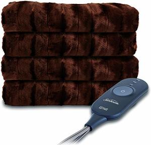 1. Sunbeam Heated Throw Blanket