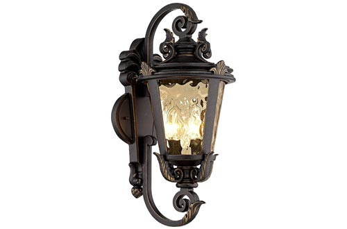 10. John Timberland Casa Marseille Outdoor Wall Light