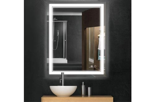 10. Keonjinn Bathroom LED Vanity Mirror