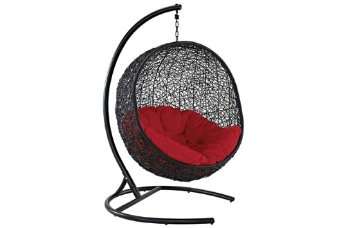 10. Modway Swing Egg Chair with Stand