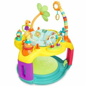 2. Bright Starts Springin' Safari Bounce-a-Bout Activity Center