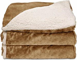 2. Sunbeam Heated Throw Blanket