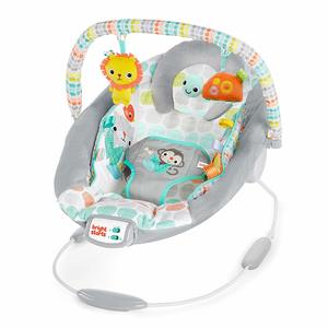4. Bright Starts Whimsical Wild Cradling Bouncer Seat