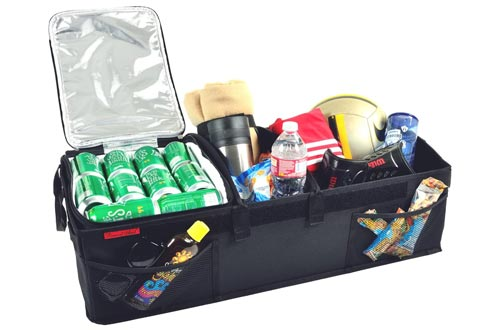 4. Picnic at Ascot Rigid Base Trunk Organizer