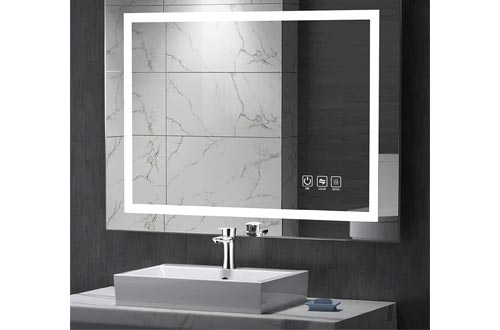 4. UVII LED Lighted Bathroom Mirror