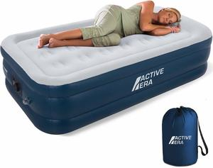 6. Active Era Air Mattress with Built in Electric Pump & Raised Pillow