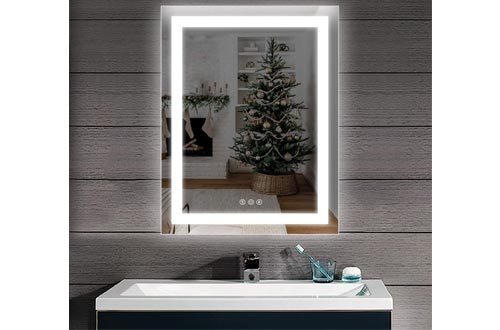 6. D'amour Wall Mounted LED Vanity Mirror