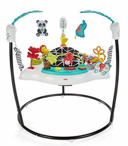6. Fisher-Price Jumperoo Animal Wonders