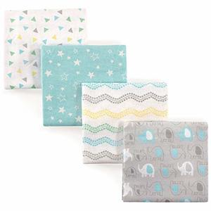 6. Luvable Friends Unisex Baby Cotton Flannel Receiving Blankets