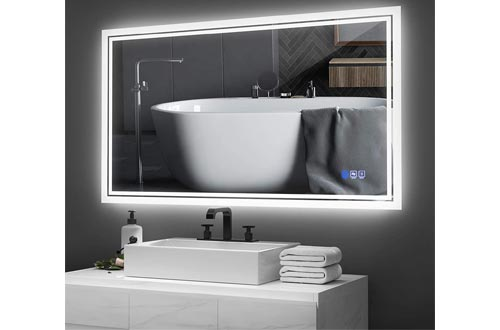 7. ANTEN Backlit Bathroom Mirror LED