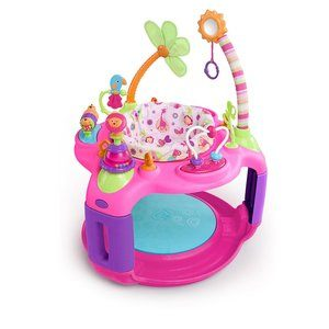 7. Bright Starts Bounce-A-Round - Pretty in Pink Sweet Safari G�� Adventure