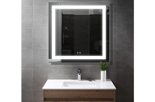 8. BATH KNOT Smart Vanity Mirror with Lights