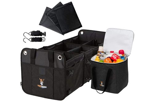 8. Tuff Viking Convertible Trunk Organizer