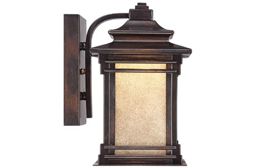 9. Franklin Iron Works Outdoor Wall Light