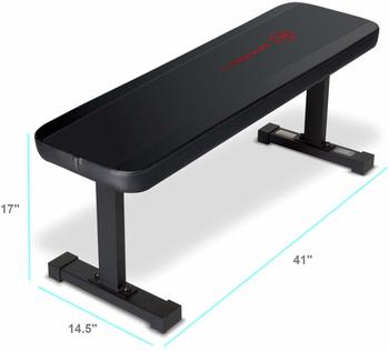 #1 Marcy Flat 600 lbs Weight Bench