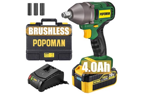 1. POPOMAN Impact Wrench with 3 Speed Transmission