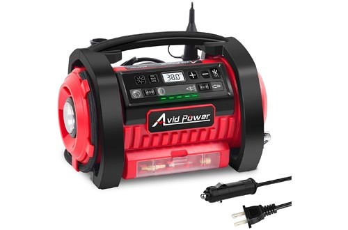 10. Avid Power Air Compressors for cars with Inflation and Deflation Modes
