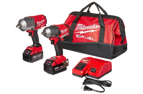 10. Milwaukee FUEL Auto Kit Impact Wrench