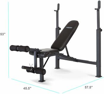 #2 Marcy Competitor Olympic Weight Bench