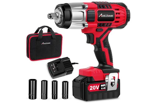 2. Avid Power Cordless Impact Wrench