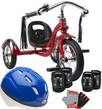#4. Schwinn Bundle Roadster 12-Inch Trike (Red)