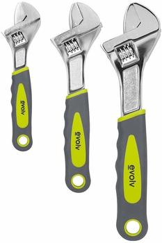 #9 Craftsman Evolv 3 Piece Adjustable Wrench Set