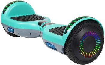 #9 SISIGAD Hoverboard Two-Wheel Self Balancing Scooter 6.5-Inch Rubber Wheels