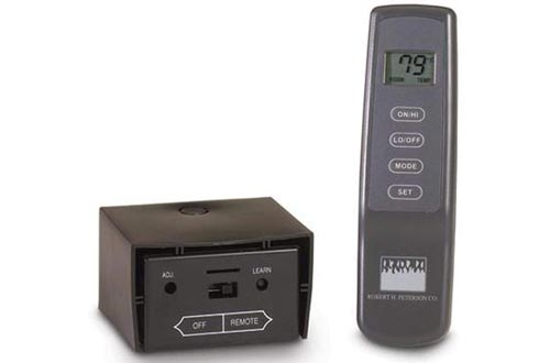5. RealFyre Peterson Deluxe Variable Flame Height Remote