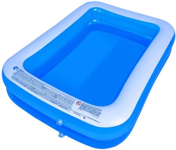 AMOCANE Family Hard Plastic Kiddie Pool for Backyard