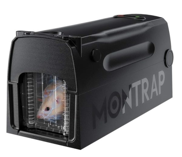 MONTRAP Effective Indoor- Outdoor Electric Mouse Trap with Automatic Door