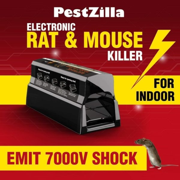 PestZilla Electronic Rat Trap Poison Free