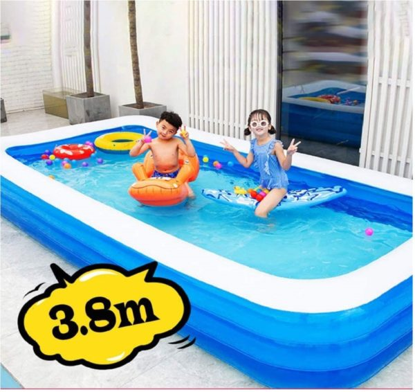 VWMYQ Summer Thickened Inflatable Hard Plastic Kiddie Pool